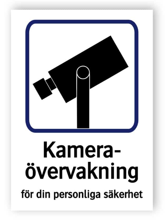 Kameraövervakning – för din personliga säkerhet