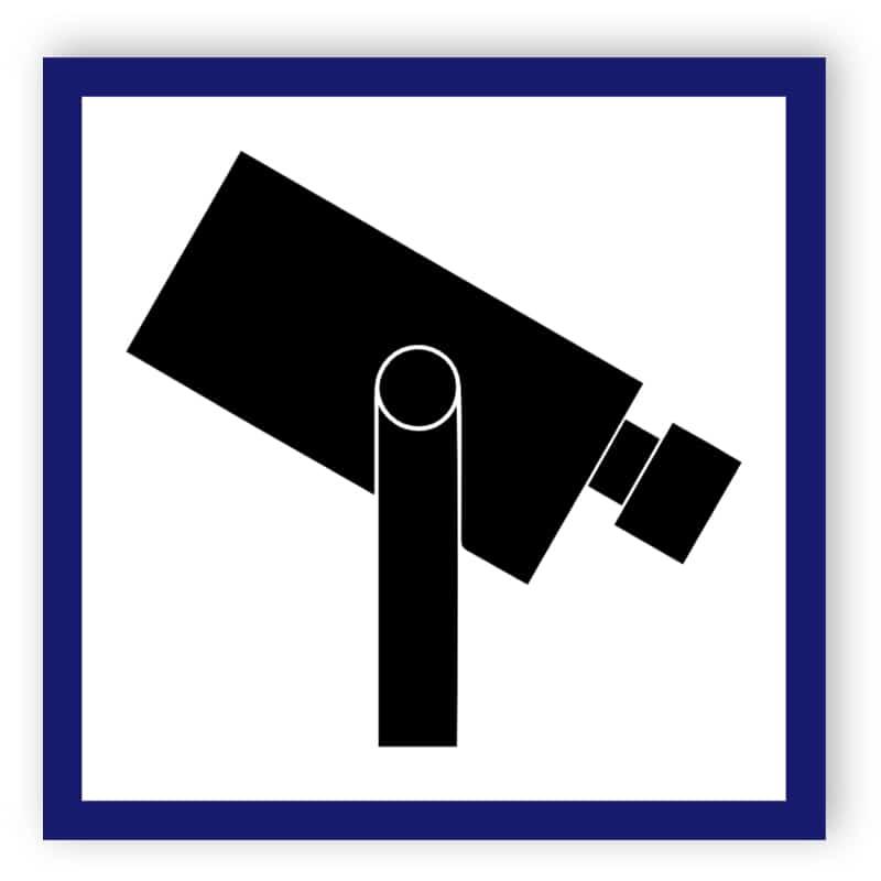 Kameraövervakning-symbol