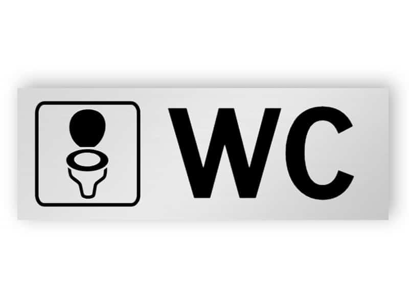 WC skylt