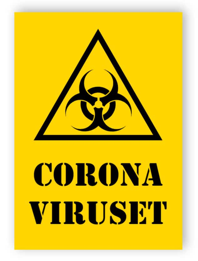 Coronaviruset tecken