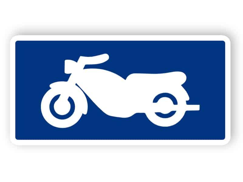 Symboltavla - Motorcykel