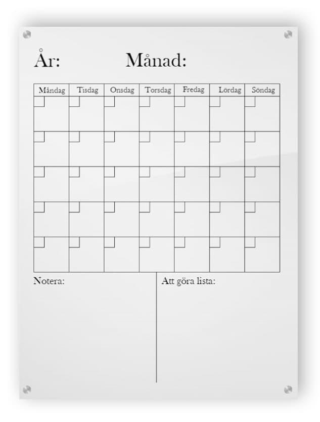 Vertikal kalender