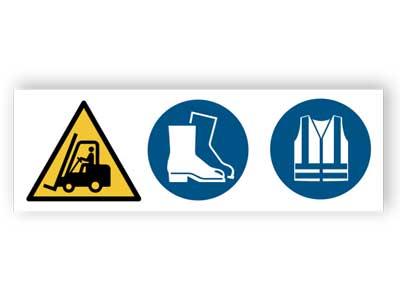 Godstrafik, Skyddsskor, Varselkläder måste användas