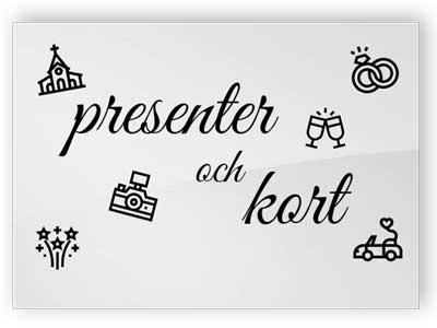 Presenter och kort