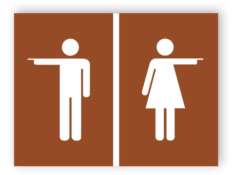 Toalett dörren plattan 4