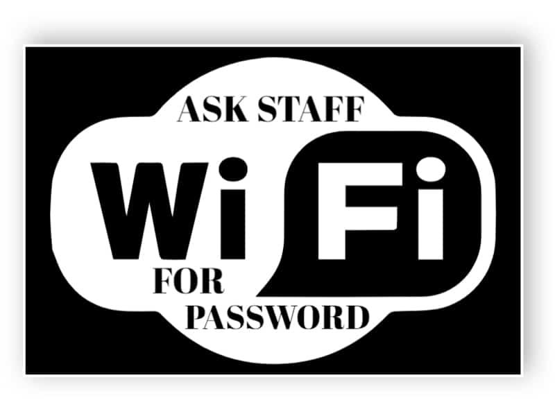 Be personalen för lösenord klistermärke